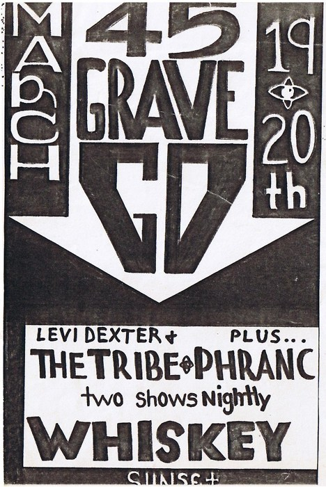 45 Grave, Levi Dexter & at the Whisky 1981