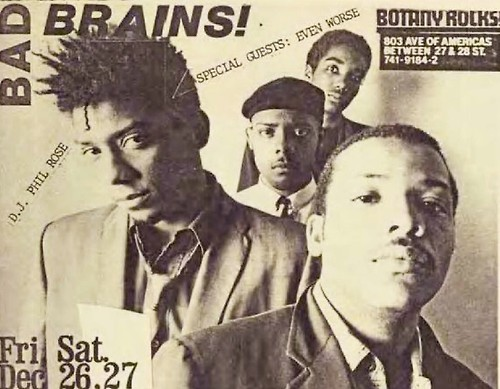Bad Brains, Even Worse @ Botany Rocks 1980
