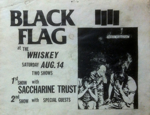 Black Flag @ The Whisky. 1982