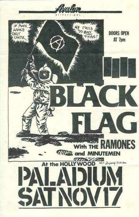 Black Flag, The Ramones, Minutemen @ The Palladium. 1984