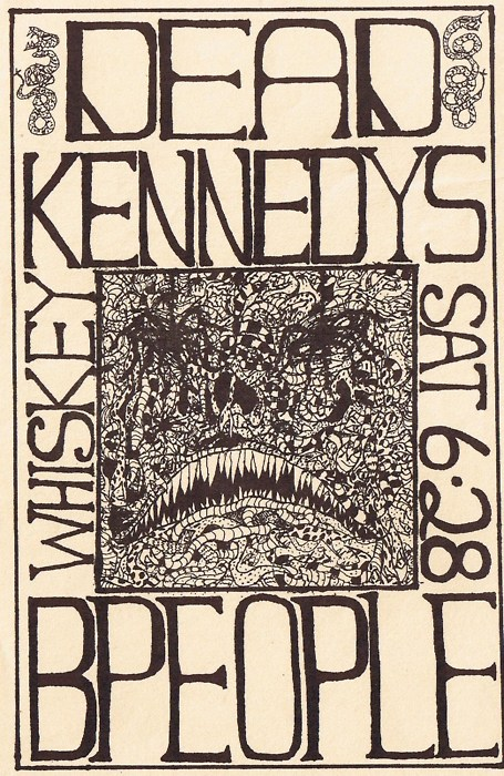 Dead Kennedys and B-People at The Whisky. Sat June 28th 1980.