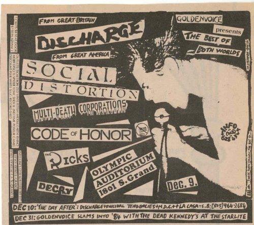 Серия старых панк-плакатов. Часть 36