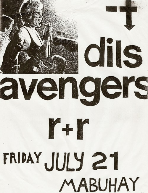 Negative Trend, Dils, Avengers @ Mabuhay Gardens. 1978