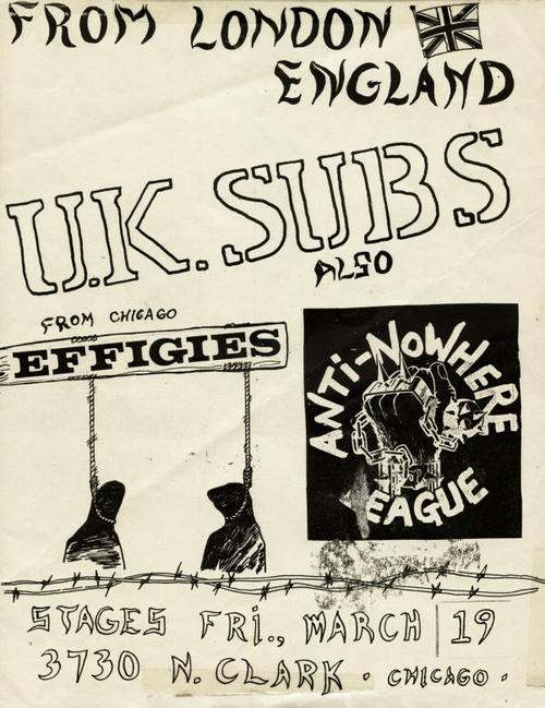 UK Subs, Anti-Nowhere League, and the Effigies at Stages in Chicago, IL 82